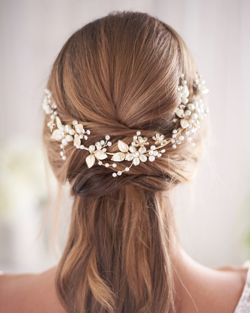Wedding Headpiece Gold