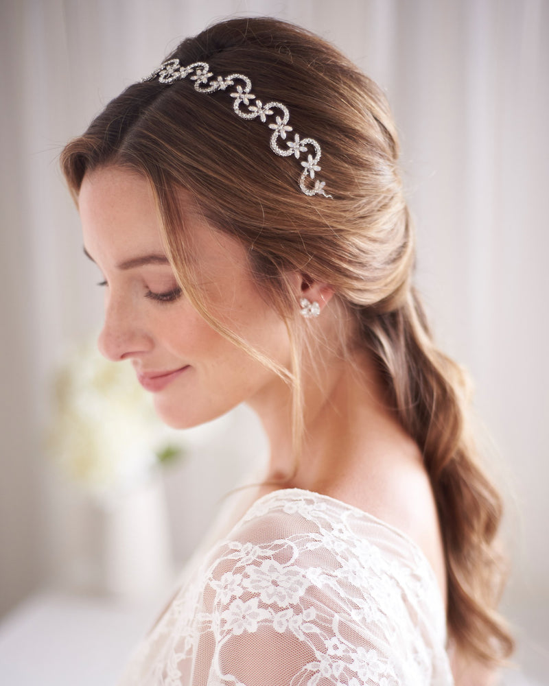 Modern Wedding Headpiece