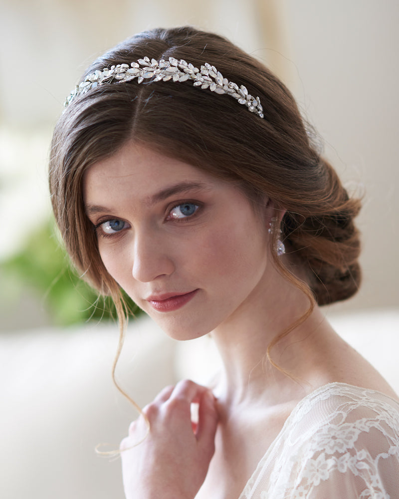 Opal Bridal Headpiece