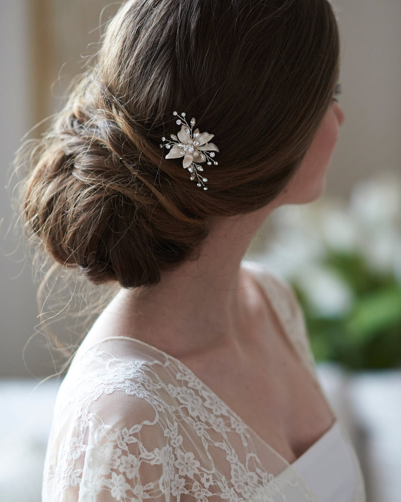 Pearl Hair Accessory Bride