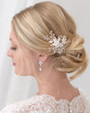 Pearl & Rhinestone Hair Pins (Set of 3)