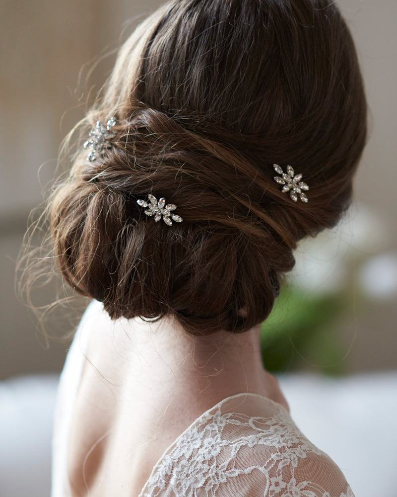 Crystal Bridal Hair Pin Accessory