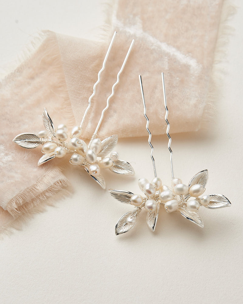 Wedding Hair Pins Pearls