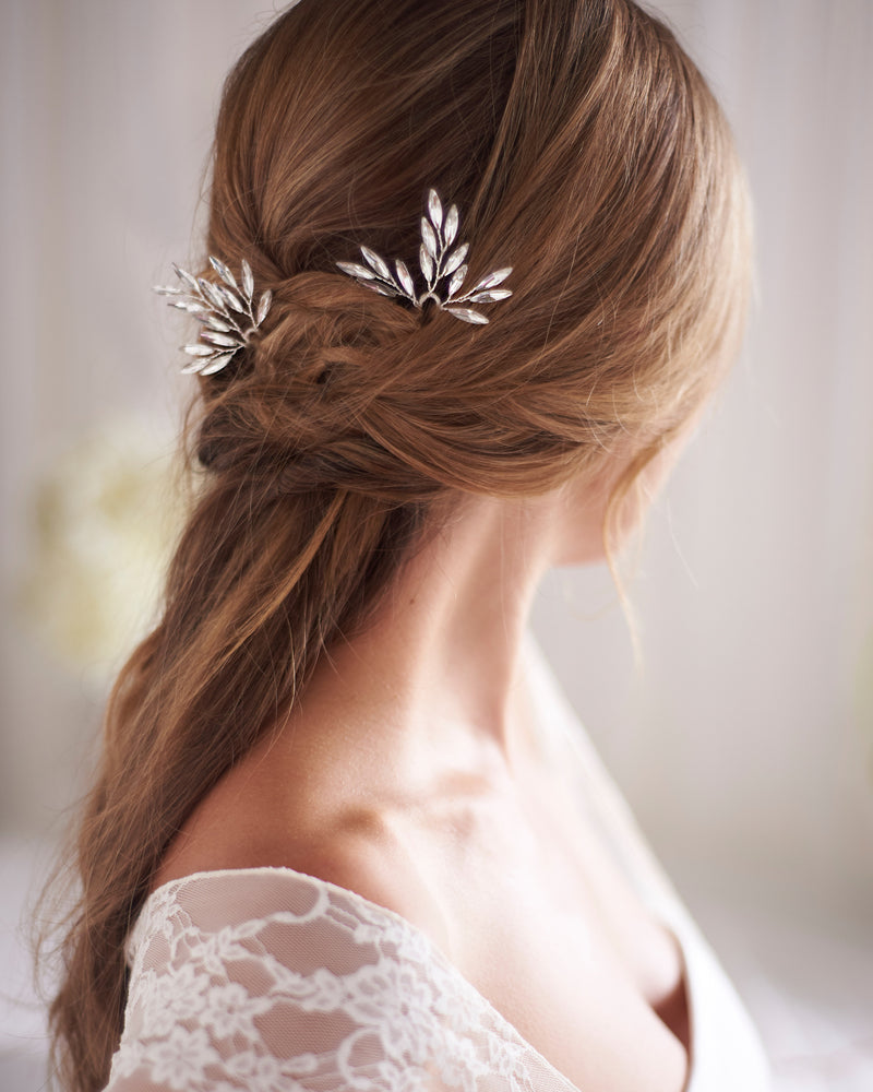 Bridal Hair Pin Crystal