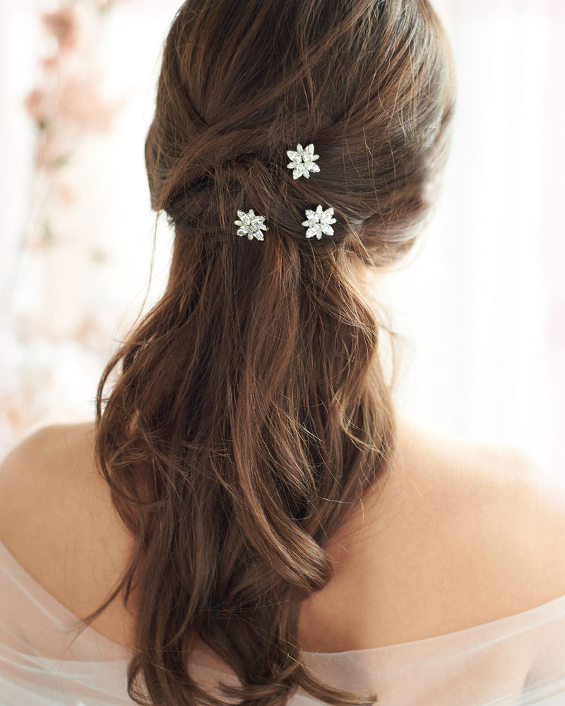 Opal Bridal Hair Pins