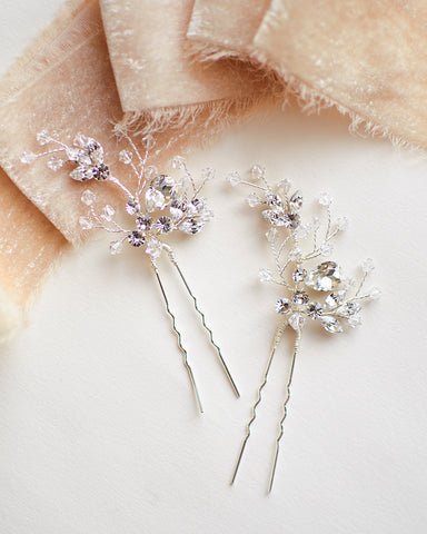 Ellie Flower Hair Pin