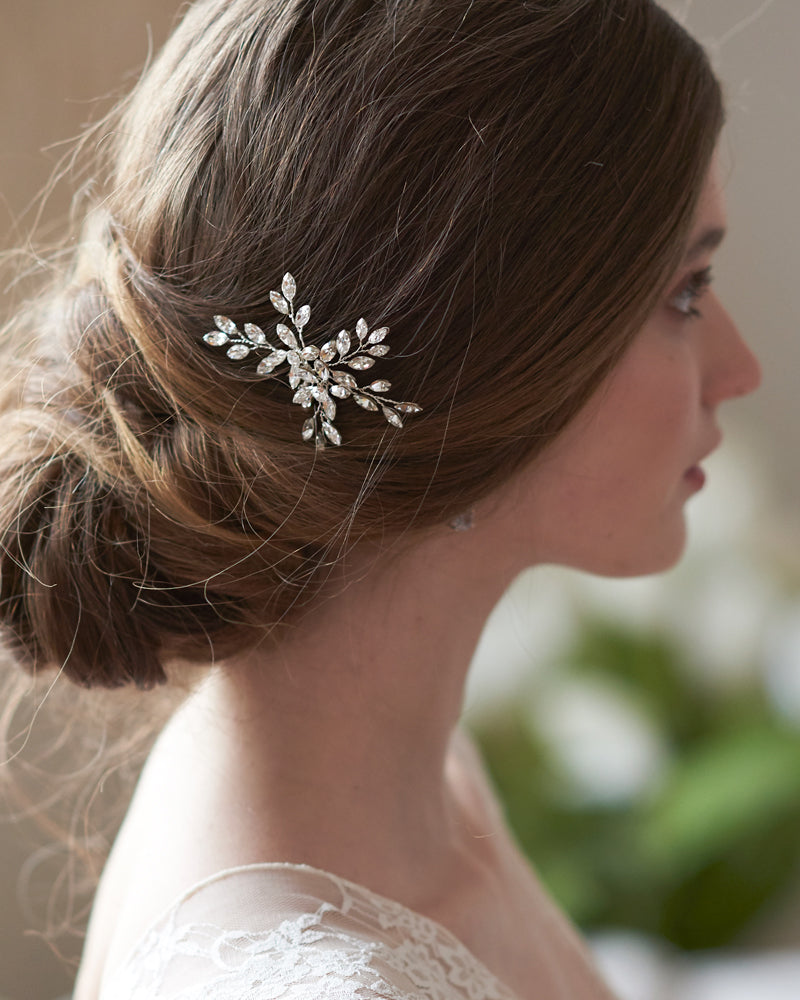 Silver Hair Pin Bride