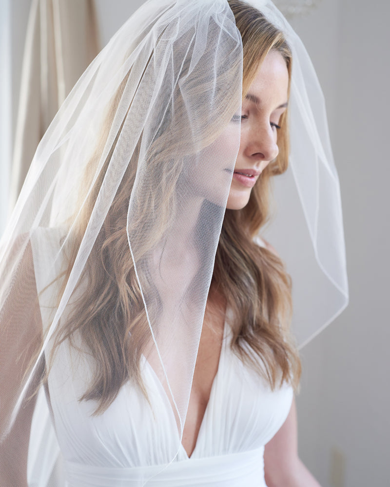 Thin Edge Wedding Veil
