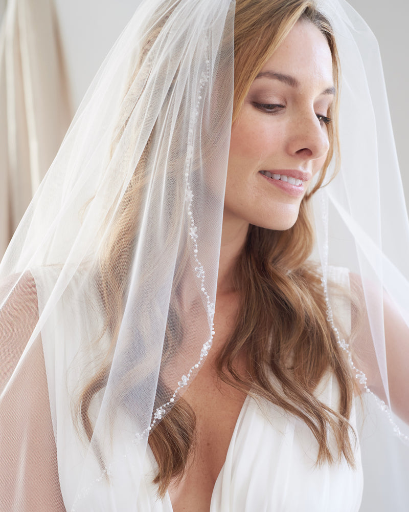 Wedding Veil Fingertip
