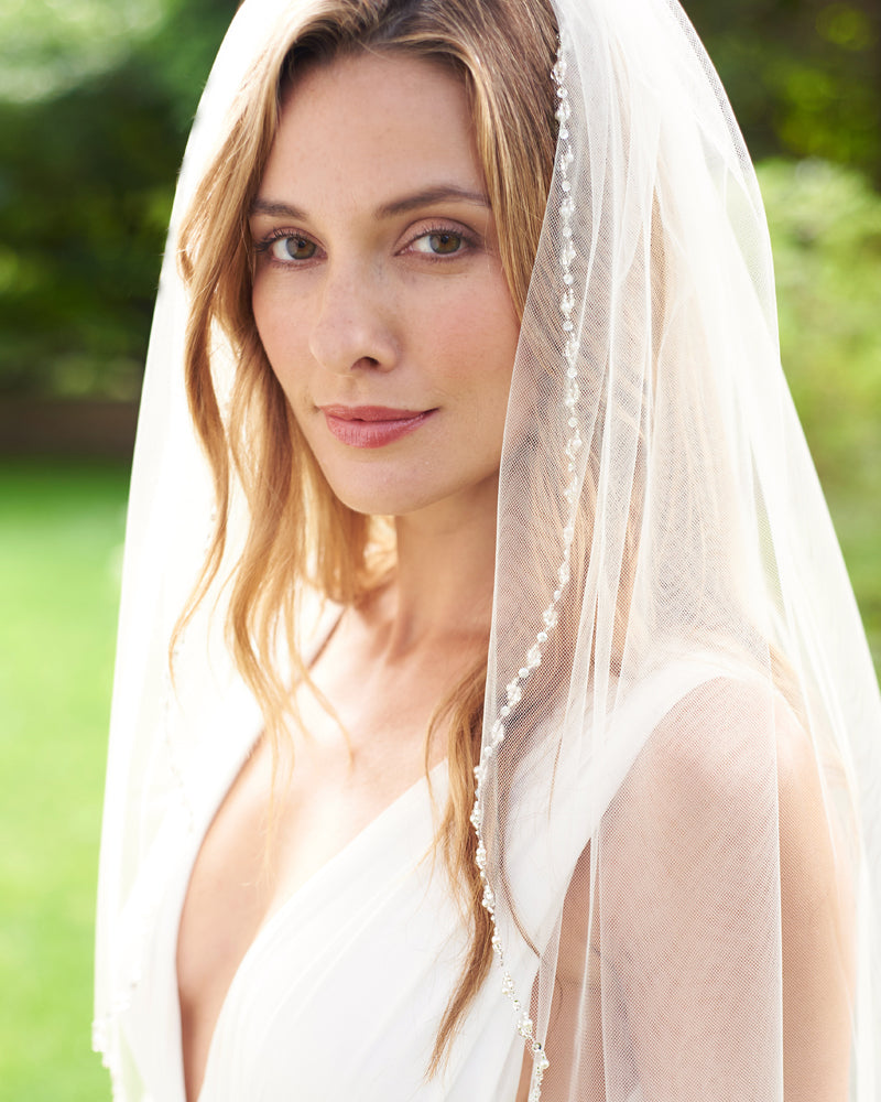 Wedding Veil Pearls