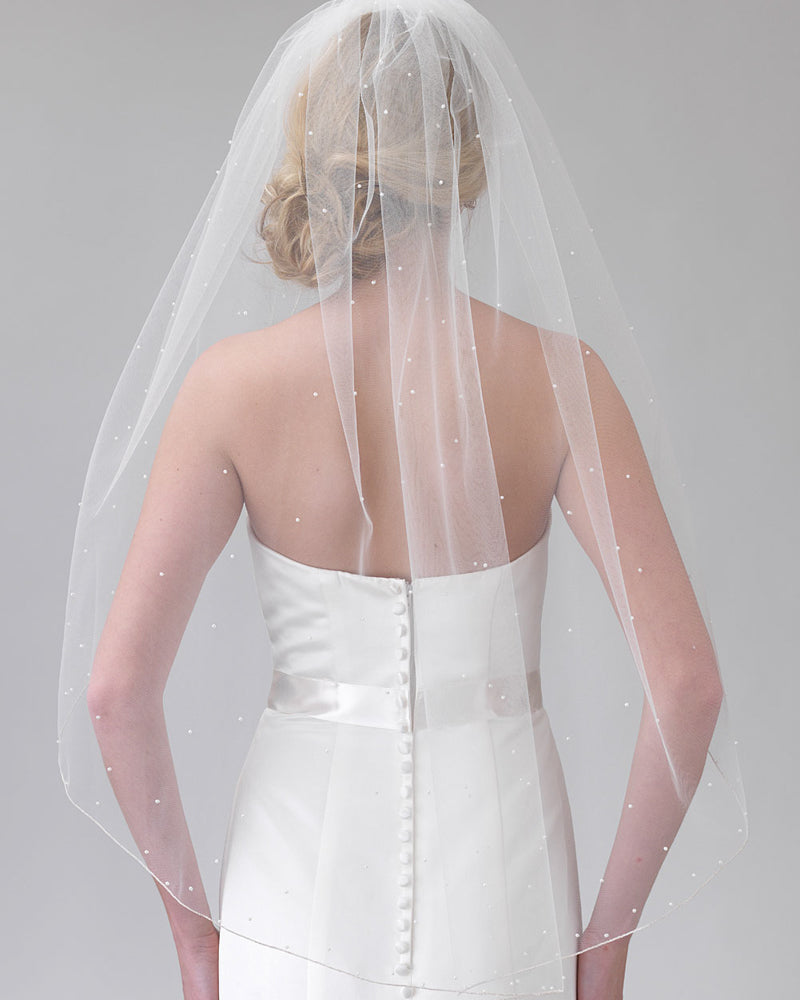 Pearl Veil for Bride