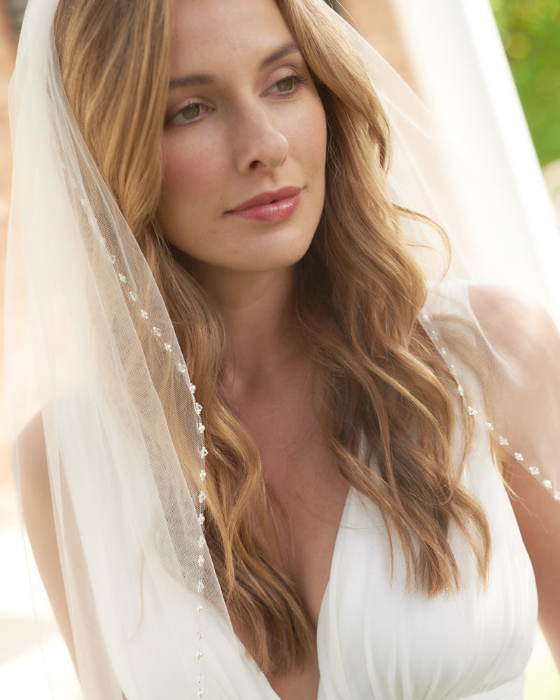 Bridal Veil with Pearls