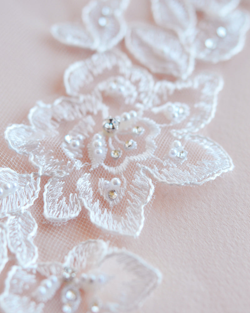 Bridal Veil Lace Edge