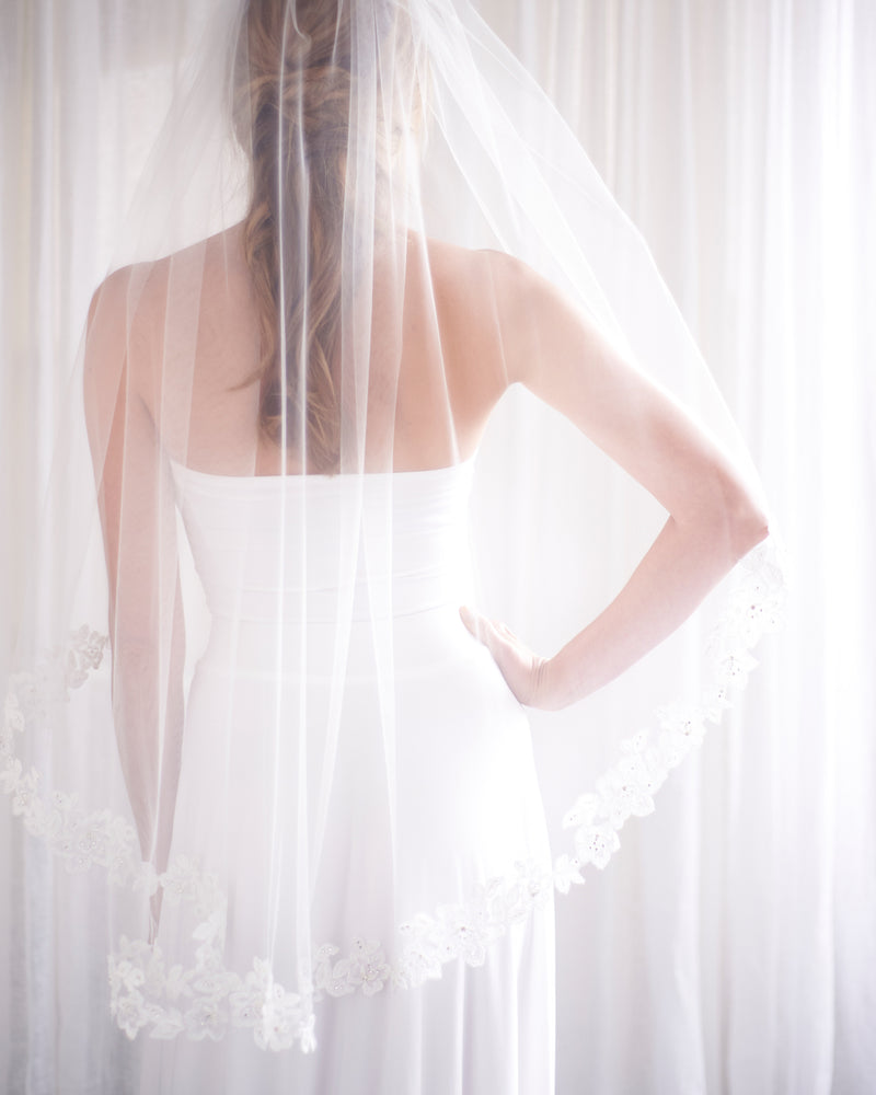 Lace Wedding Veil For Bride