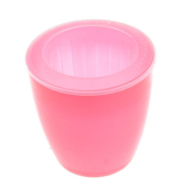 Fashioable Automatic Self Watering Round Plastic Plant Flower Pots Home Office Decor Planter Decorative Crafts In The Bedroom