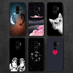 Matte Phone Case For Samsung Galaxy S9 J5 2017 A3 A5 A7 J7 J3 2016 A8 2018 S8 Plus J2 Pro Note 8 S6 S7 Edge Pattern Cover Shell