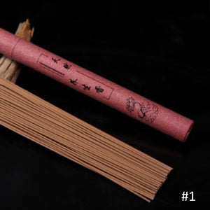 Natural Sandalwood Oriental Buddha Buddhist Aromatic Line Incense Stick Incense Sandalwood Micro Smoke Type Sandalwood Incense