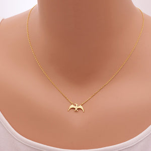 Shunyun Pterodacty Animal Pterosaur Necklace Dinosaur Pendants Chain Necklaces Gifts Dino Dinosaur Charm Jewelry for Women