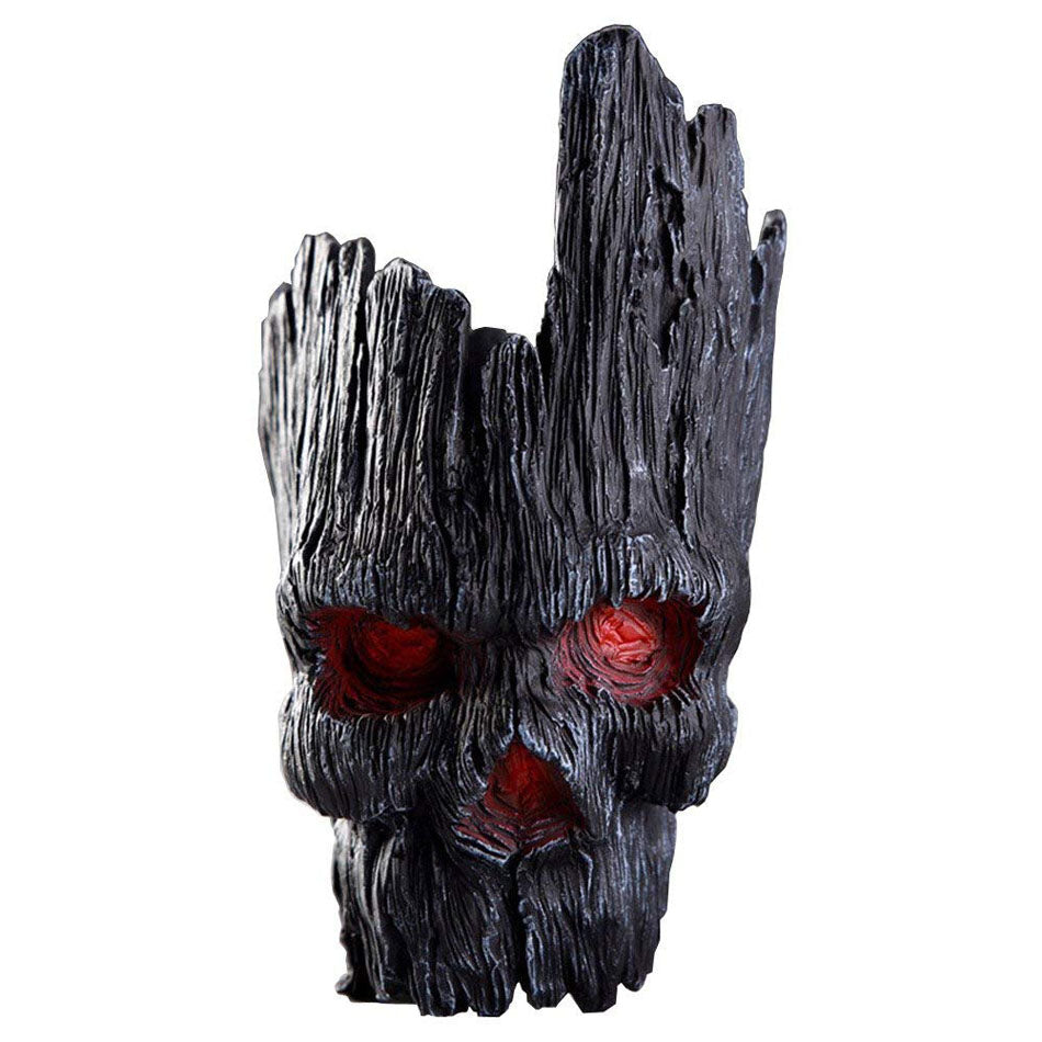 Skull Tree Men's Flowerpot Flower Pot Planter Action Figures Guardians of The Galaxy Toy Tree Man cool Model Toy Pen container