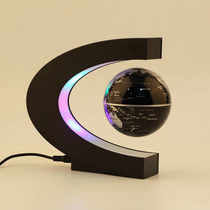 New Electronic Magnetic Levitation Floating Globe Antigravity magic/novel light Birthday Gift Xmas Decoration Santa Decor Home