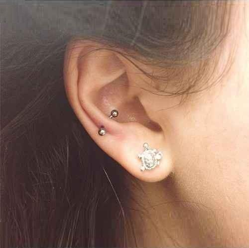 Snug Piercing / Anti-Helix Piercing Jewelry