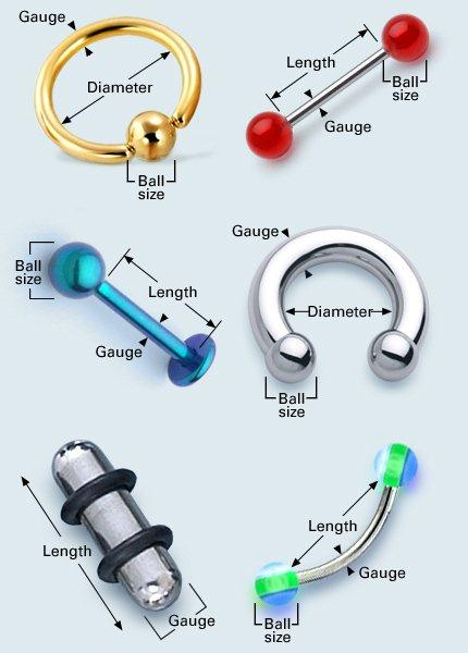 How To Measure Body Jewelry
