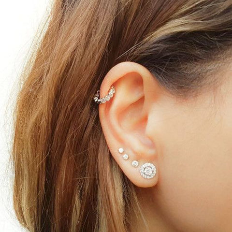 Helix Earrings | Helix Jewelry | Helix Piercing Jewelry | Body Jewelry -  Rebel Bod