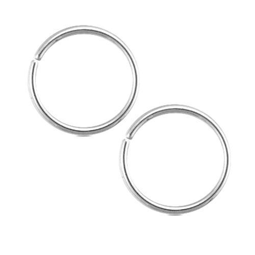 16G Titanium Seamless Rings - 1 Piece