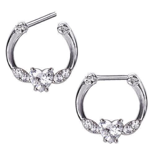 316L Surgical Steel Septum Nose Retainer Bar Ring Body Piercing Jewellery