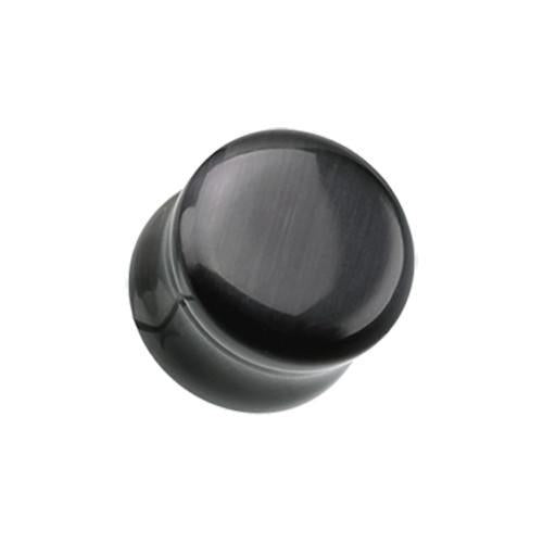 Classic Checker Inlay Double Flared Ear Plug Sold as a Pair Red