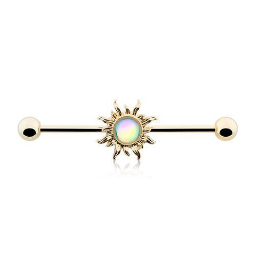 Golden Revo Sun Industrial Barbell - 1 Piece