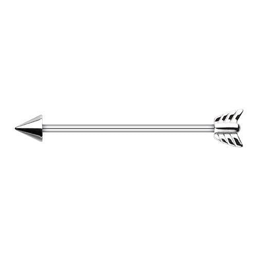 Katniss Arrow Industrial Barbell - 1 Piece