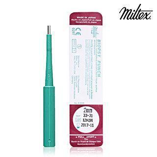 Miltex Disposable Biopsy / Dermal Punch-2mm