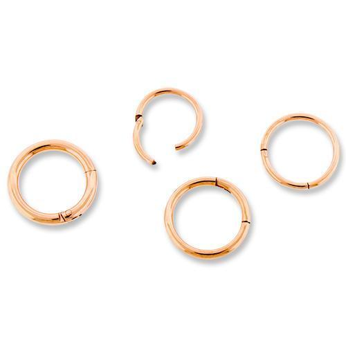 Rose Gold Hinged Segment Ring - 1 Piece *