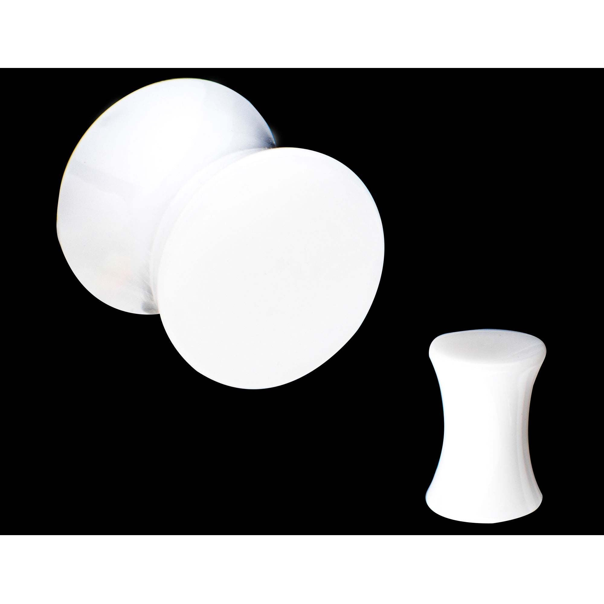 UV Acrylic Solid Saddle Plug