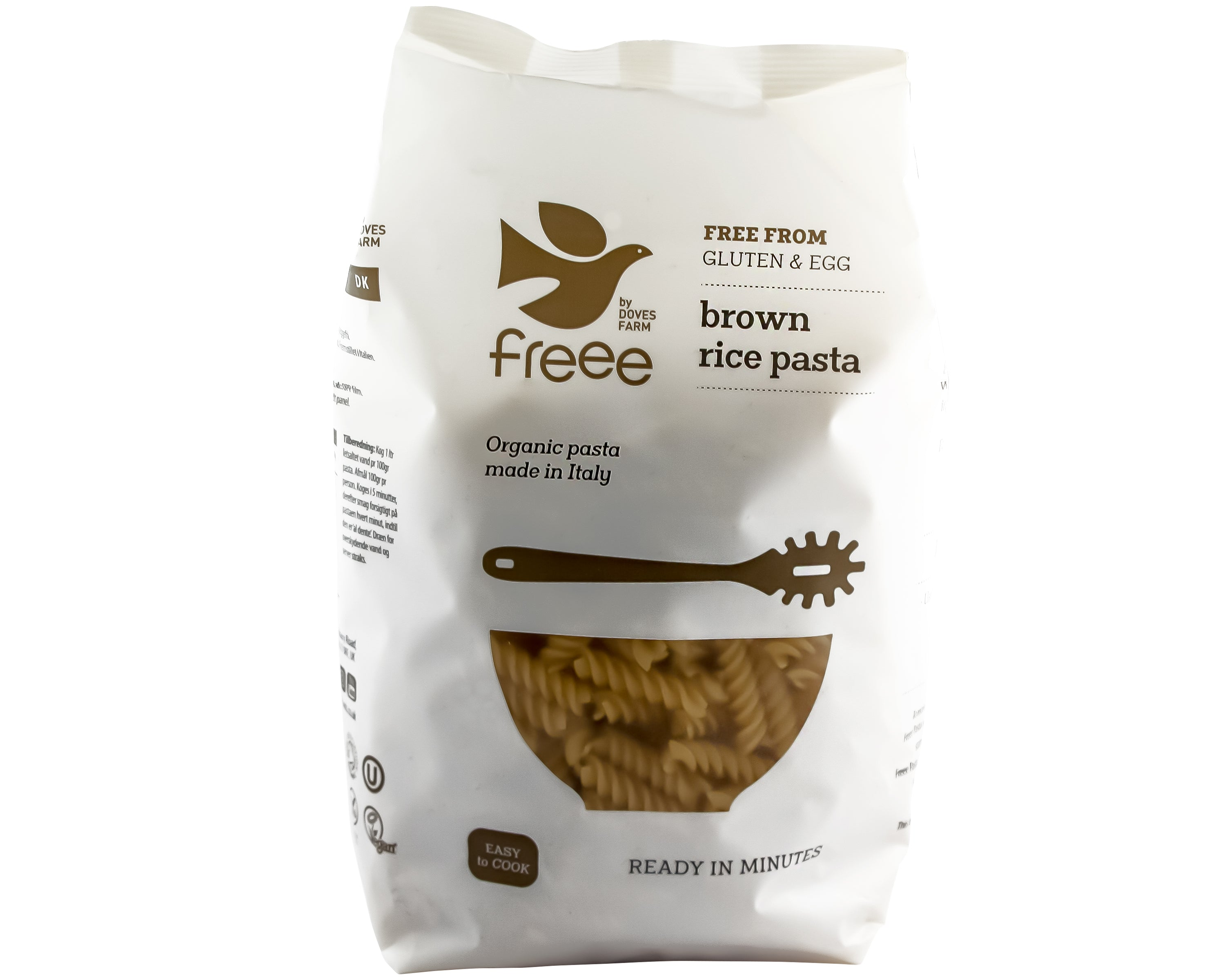 Doves Farm - Gluten Free Organic Brown Rice Fusilli 500g - Foodsake