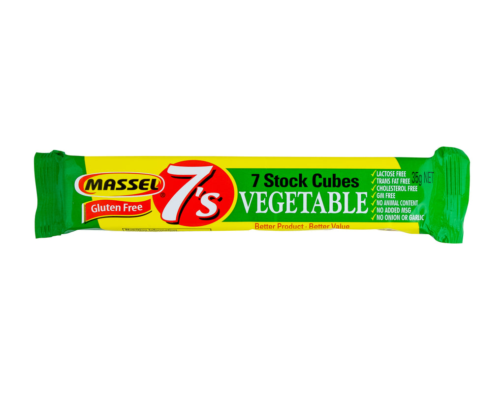 MASSEL - 7's Stock Cubes - Vegetable (35g) - Foodsake