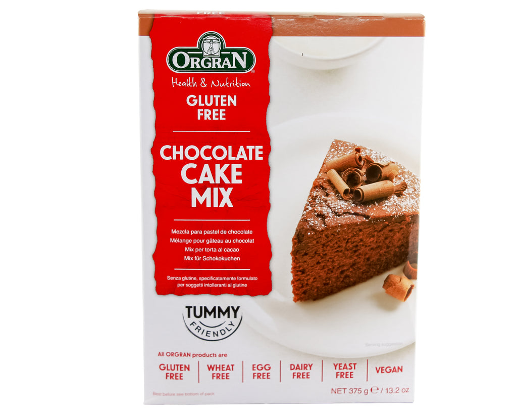 Orgran - Gluten Free Chocolate Cake Mix (375g) - Foodsake