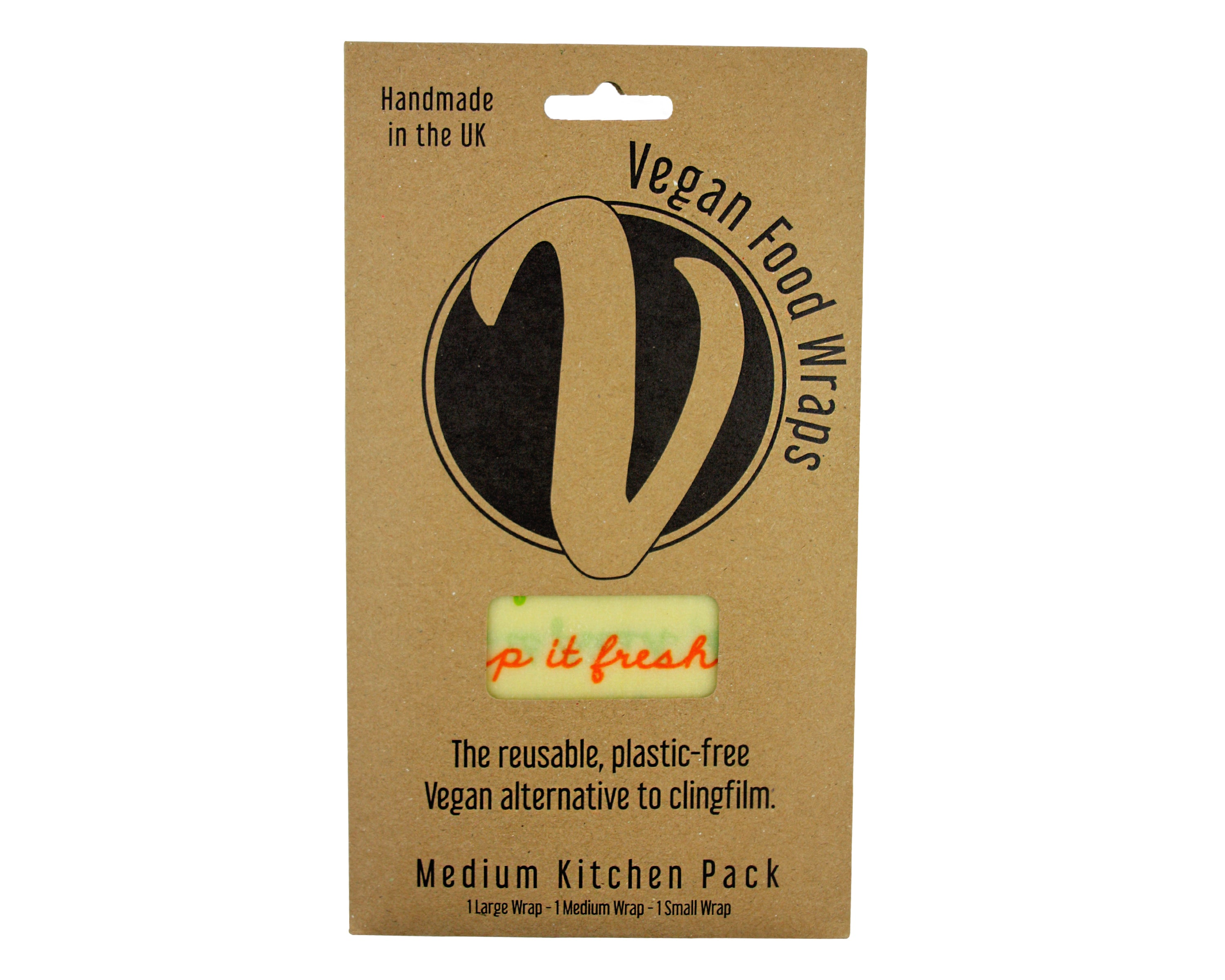 NADA - Vegan Medium Kitchen Pack Wraps - Foodsake