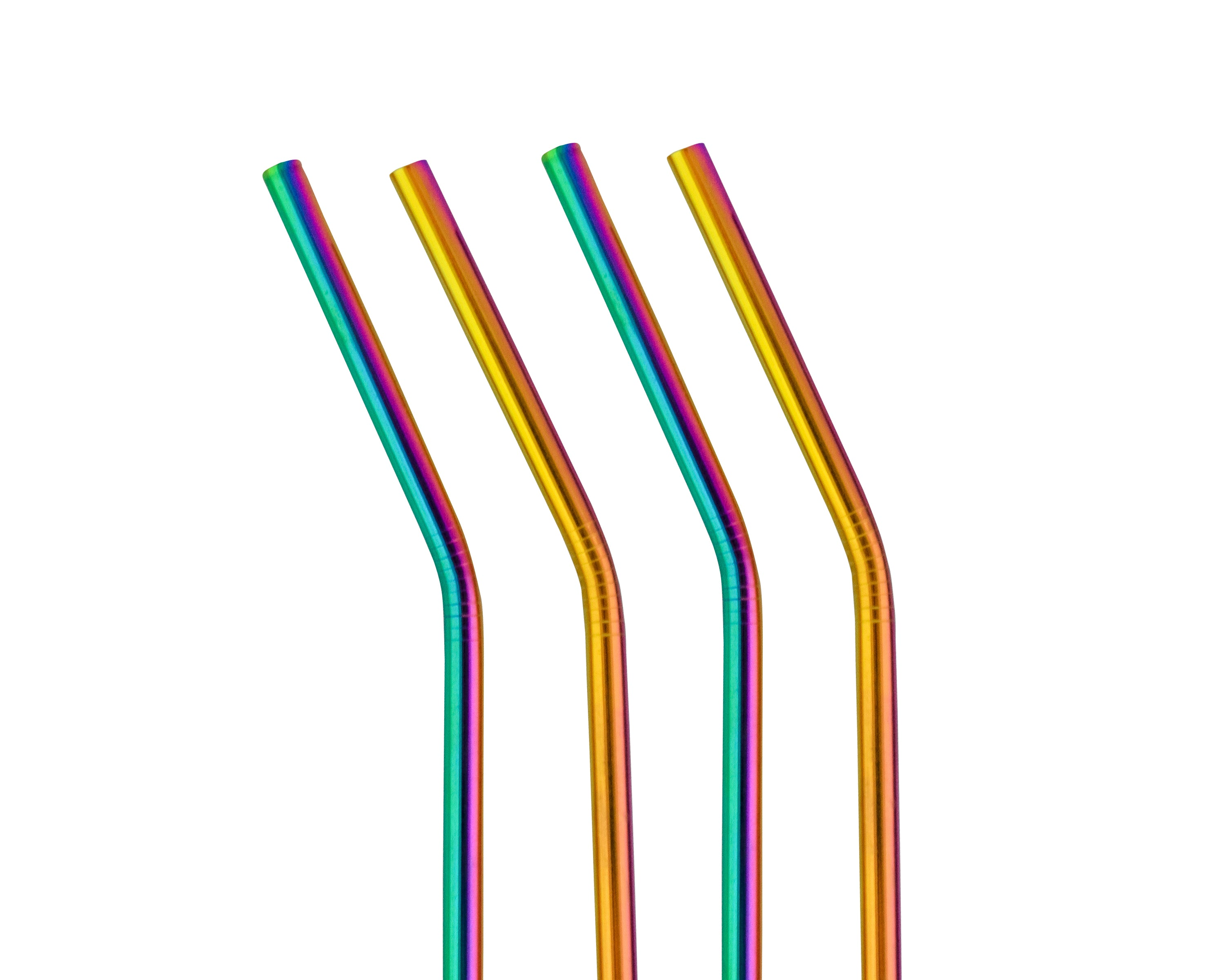 NADA - Rainbow Reusable Metal Straw - Foodsake