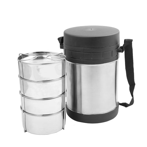 Thermo steel  Tiffin  Container - Insulated Lunch Box