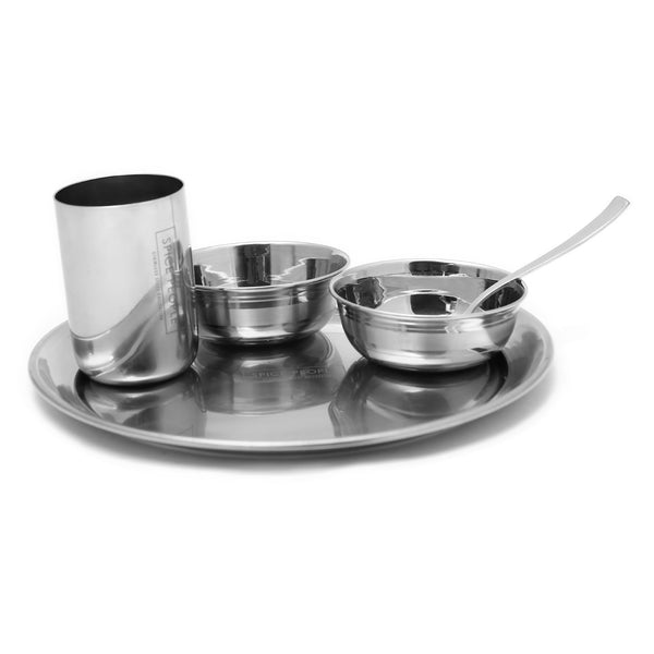 Dinner Set of 5pcs - Stainless Steel - The Spice People