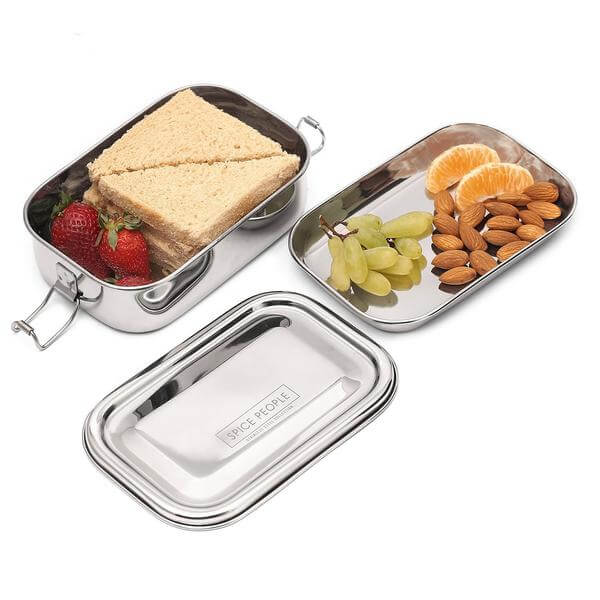 stainless steel lunch box bento