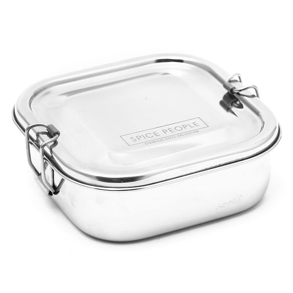 Stainless Steel Bento Boxes - Square