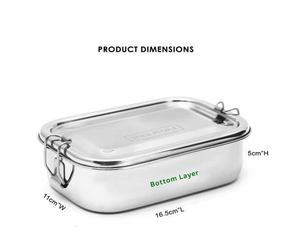 stainless steel containers for lunch boxes