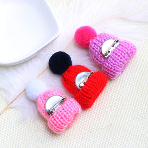 Mini Hat Brooch Pins