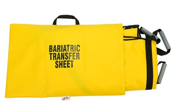 Bariatric Transfer Sheet With Backboard Insert Sleeve