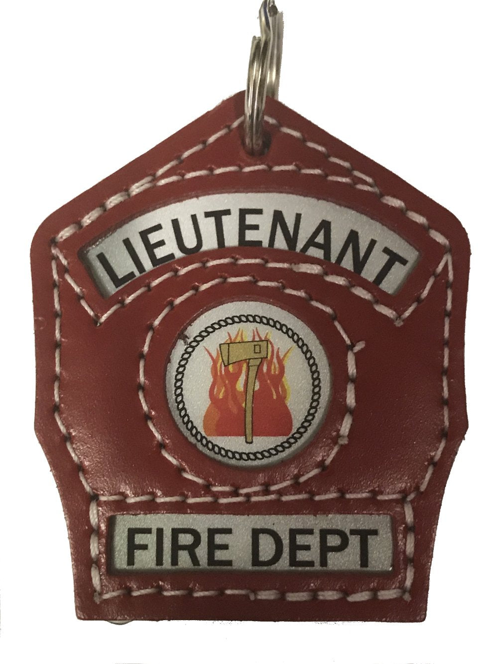 Truck Lieutenant Key Chain Shield