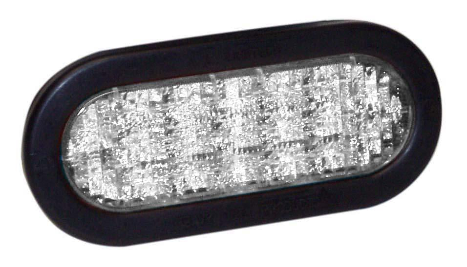"Self Contained 6"" Oval LED Lights"