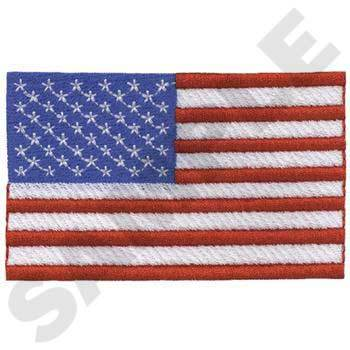 USA Flag Embroidery